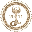 "Gold medal of the international competition ""Quality of products and services ""Eurasia-2011"""